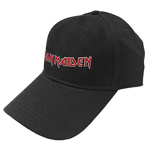 Iron Maiden Baseball Cap Classic Band Logo Trooper Nue offiziell Schwarz