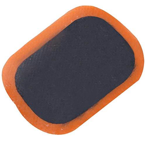 SANON 48 Pcs Réparation de Crevaison Pneu Autocollant Patch Papier de Verre Outils de Réparation de Pneu de Vélo Accessoire de Vélo pour VTT Réparation de Crevaison de Pneu de Vélo
