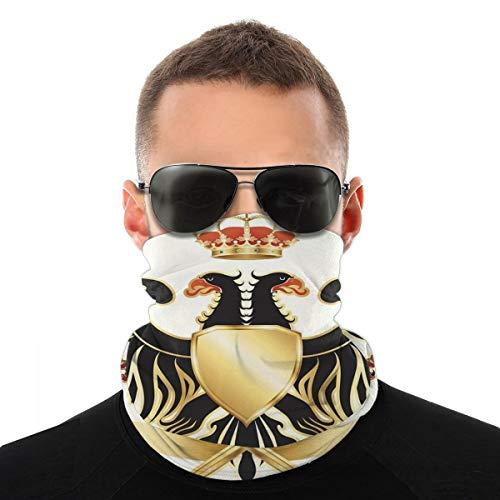 Doppelköpfiger Adler Mantel Arme Gesicht Schal Abdeckung Outdoor Sport Laufen Frauen Männer Gesicht Abdeckung Vielfalt Gesicht Handtuch Hals Halsband