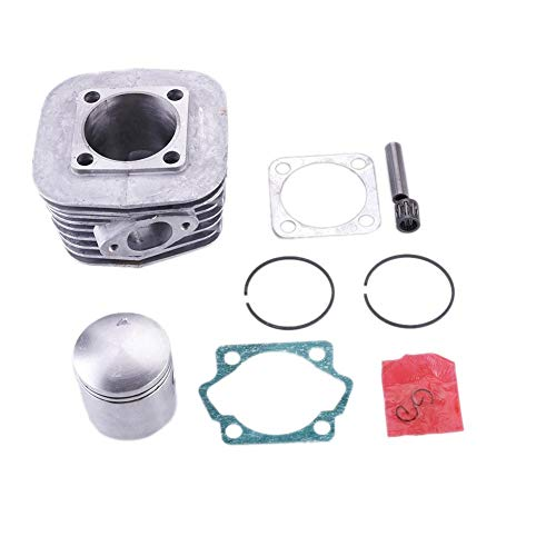 Niome 100cc Engine Motor Cylinder Piston Pin Set For Motorized Bicycle Bike Motor