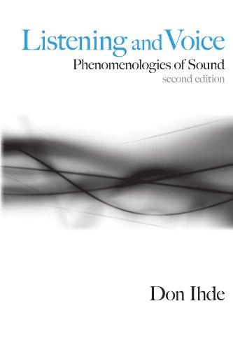 Listening and Voice: Phenomenologies of Sound