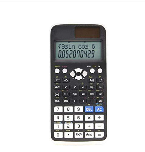 LULUDP Calculatrice Calculatrice Ingénieur en comptabilité Étudiante en calcul Examen Fonction scientifique Type de glissière multifonction Double alimentation 417 Types de statistiques de calcul (Cal