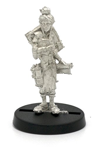 Stonehaven Elf Librarian Miniature Figure (for 28mm Scale Table Top War Games) - Made in USA