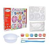 Interesty Paint for Kids, juego de manualidades para hacer manualidades con imán de pintura de bricolaje para refrigerador, para niños y niñas de 4 5 6 7 8 años, manualidades de Pascua y rellenos de