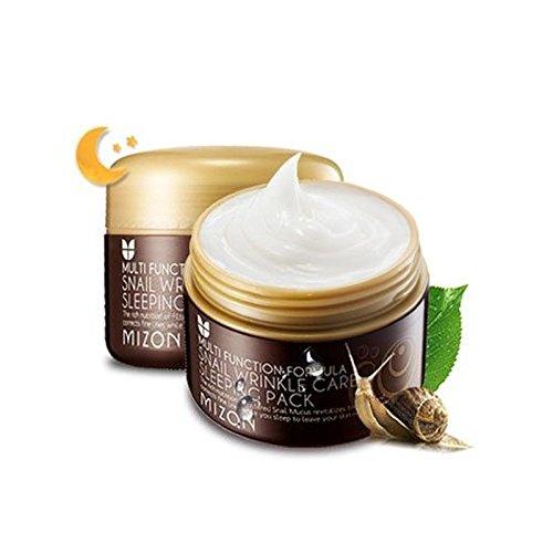 [MIZON] Snail Wrinkle Care Sleeping Pack 80ml / Night Treatment pack