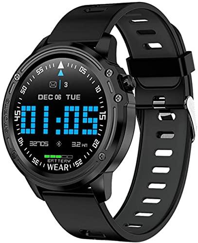 L8 Orologio Intelligente Uomini s IP68 Impermeabile Reloj Hombre Modalità Smartwatch E ECG PPG Pressione Sanguigna Cardiaca Sport Fitness-B