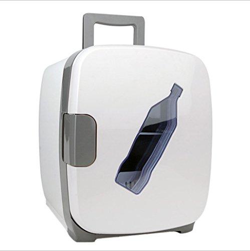Q-HL Auto Elektrische Kühlschrank Kühlbox, 13L Auto Kühlschrank, tragbare Mini-Kühlschrank, AC und DC Hotspot-System, Thermostat, Medikamentenlager, Kosmetik-Kühlschrank