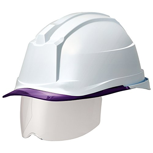 ミドリ安全 ヘルメット 一般作業用 電気作業用 スライダー面 SC19PCLS RA3 αライナー付 ホワイト パープル
