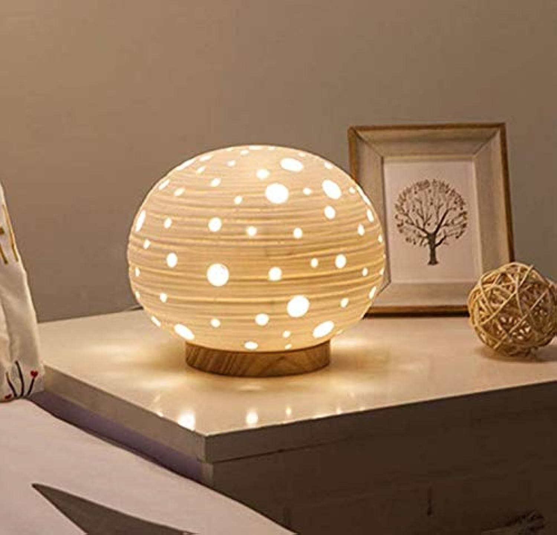 ChandelierWeiß Keramik Led Einfache Moderne Kreative Mode Fantasie Warme Schne Dimmable Schreibtischlampe Nacht Kinderzimmer 18  21 Cm