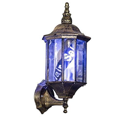 WangXN Ledlampen voor barbecues, retro, roterende lichten, achtergrondverlichting, wandlamp, lampenkap, barbeer