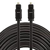LICHONGGUI ES EMK 20m OD4.0mm Toslink Macho a Macho Cable de Audio óptico Digital Computer Accessories