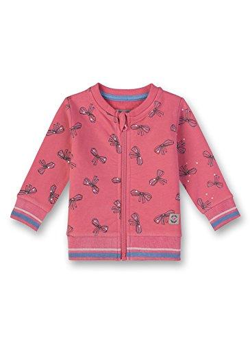 Sanetta Sanetta Baby-Mädchen Sweatjacket Sweatjacke, Rosa (Lotus Rose 3224.0), 92