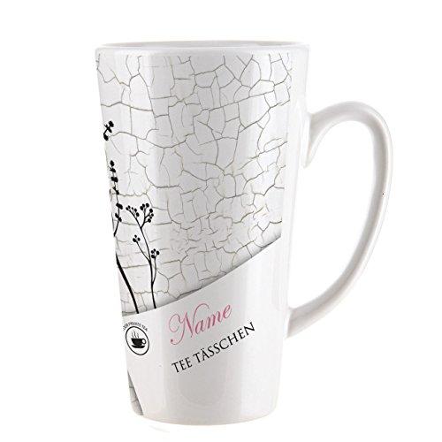 Herz & Heim® Teetasse XL mit Aufdruck des Wunschnamens