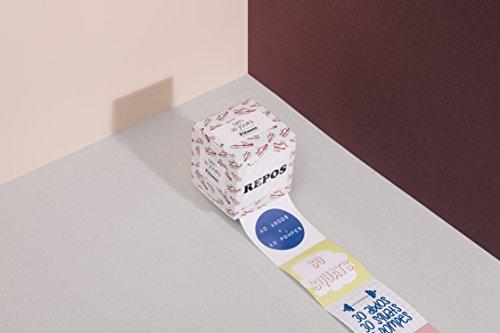 DOIY Design DYCHALFIF Défi Fitness 30 Jours Français, Papier, Multicolore, 40x20x20 cm