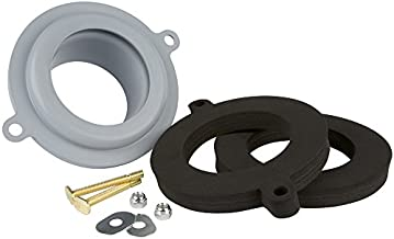 Plumbcraft 7140300 Seal Tight Waxless Gasket Kit-Universal FIT Any Toilet