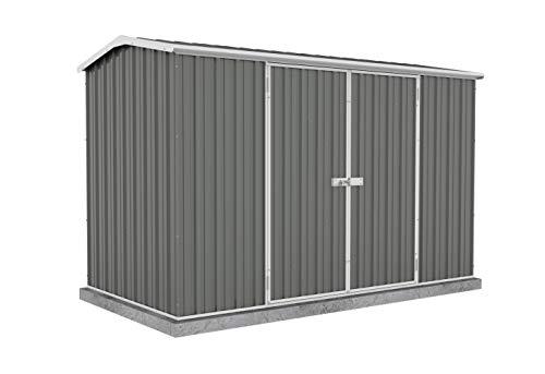 ABSCO 30152GK Premier Storage Shed, 10 x5 , Woodland Grey