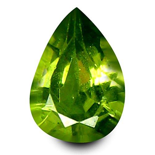 0.18 ct Pear Cut (4 x 2 mm) Un-Heated Natural Demantoid Garnet Loose Gemstone