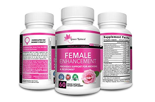 Female Enhancement Premium Formula with BioPerine Increase Stamina & Energy, Boosts Sex Drive, Extra Strength with Natural Herbal Complex Extract for Women, Organic & Safe, All Natural, Made in USA