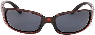 Costa Del Mar Brine Sunglasses Tortoise / Gray 580Plastic