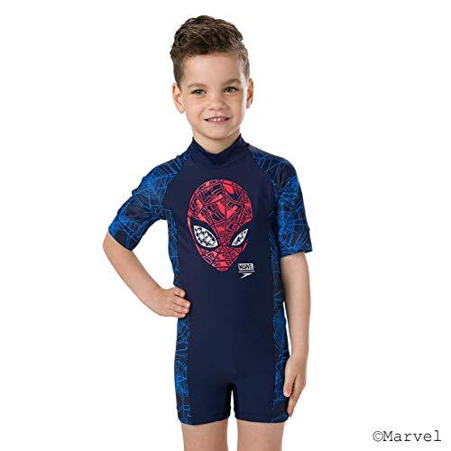 Speedo Essential All In One Suit Im Bañador, Infant Male, Azul, 6 Años
