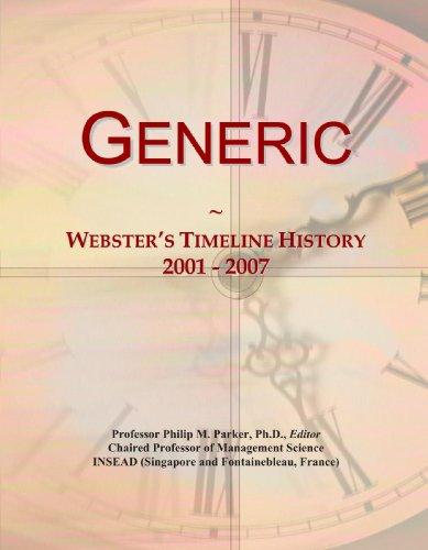 Generic: Webster's Timeline History, 2001 - 2007