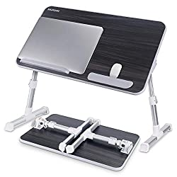 Nearpow Adjustable Bed Table Book Stand