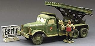 King & Country Toy Soldiers Russian Army RA014 Russian Katyusha Rockt Launcher Set 1:30 Scale Mixed Media