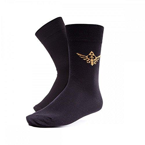 Zelda - Golden Triforce - Socken - Original Merchandise, Sockengröße:39/42