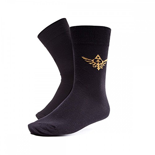 Zelda - Golden Triforce - Socken - Original Merchandise, Sockengröße:43/46