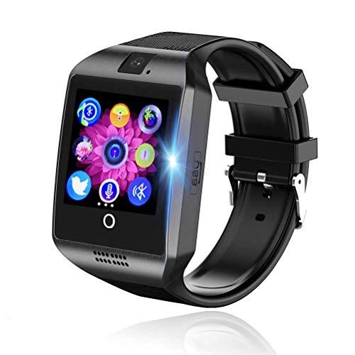 Smartwatch para Hombres y Mujeres, Reloj Inteligente con Monitor de Pasos, Pulsera Deportiva Inteligente, Reloj de Fitness con Podómetro y Cronómetro, SmartWatch con Función de Llamada y Notificación
