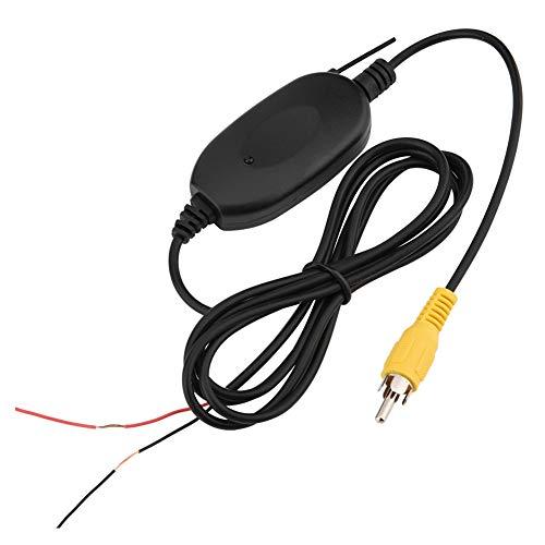 Queen.Y Wireless Video Transmitter Receiver 2. 4G Autokamera Wireless Modul Auto DVD AV-Schnittstelle für Die Fahrzeug-Rückfahrkamera Front-Car-Kamera