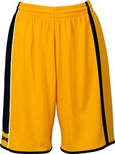 Spalding 4her Shorts Pantalones Cortos, Amarillo, XXS para Niñas