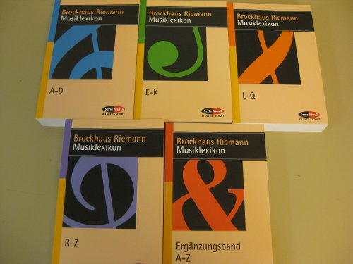 Brockhaus Riemann Musiklexikon. 5 Bde.