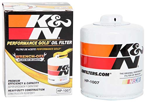 K&N Premium Oil Filter: Designed to Protect your Engine: Fits Select CHEVROLET/GMC/BUICK/CADILLAC Vehicle Models (See Product Description for Full List of Compatible Vehicles), HP-1007