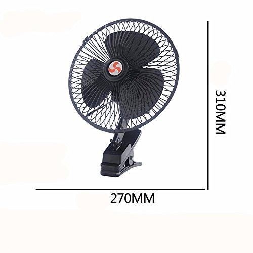 JISHUQICHEFUWU 10 Pouces 24 V Ventilateur/Ventilateur/pièces Auto/Voiture été