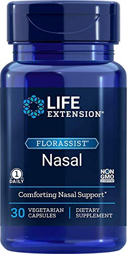 Life Extension Florassist Nasal Vegetarian Capsules, 30 Count