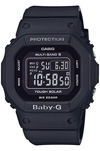 [カシオ] 腕時計 ベビージー 電波ソーラー スーパーイルミネータータイプ(高輝度なLEDライト) BGD-5000UMD-1JF レディース ブラック