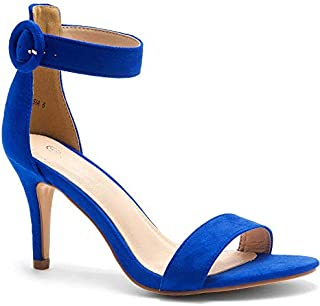 Herstyle Ambrosia Women's Open Toe High Heels Dress Wedding Party Elegant Heeled Sandals