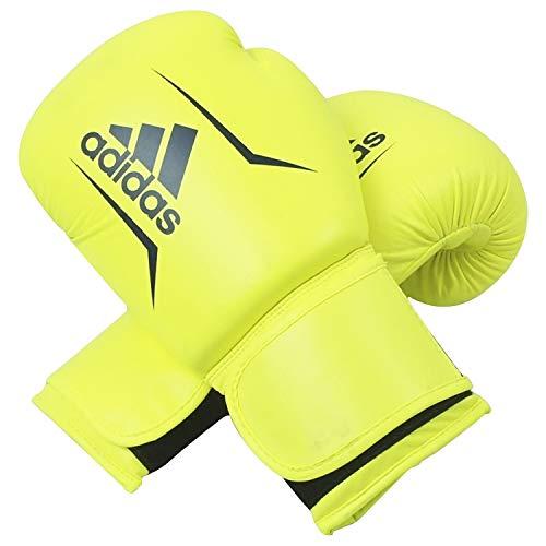 adidas Unisex Speed 50 - Gelb/ Blau 12 Oz; Adisbg50 Boxhandschuhe, gelb/ blau, oz EU