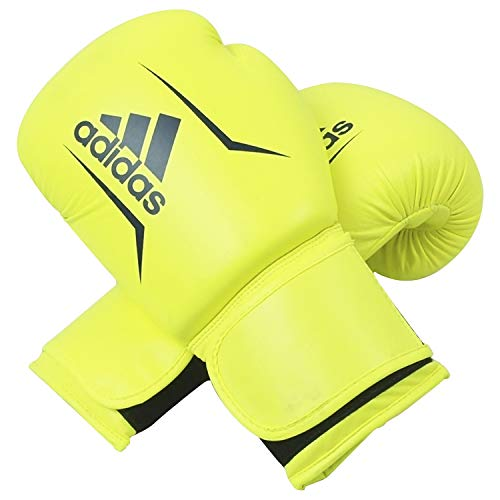 adidas Erwachsene Speed 50-gelb/blau 8 oz adiSBG50 Boxhandschuhe