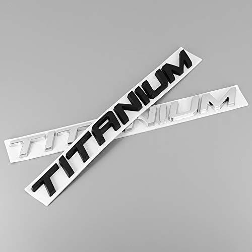 XHULIWQ Auto 3D Metall Styling Abzeichen Aufkleber Chrom Emblem, Für Ford Focus, Auto Außenaufkleber Abziehbilder Zubehör Dekoration
