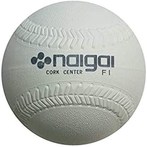 ナイガイ ソフトボール3号公認球 1個 内外ゴム製 JSA試合球