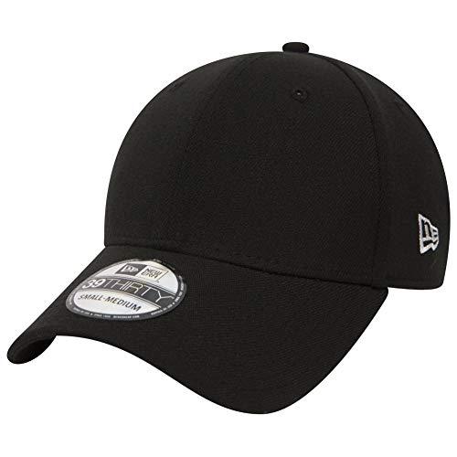 New Era Baseball Cap Mütze 39Thirty Stretch Back - Gorra para hombre, color negro (black), talla M/L