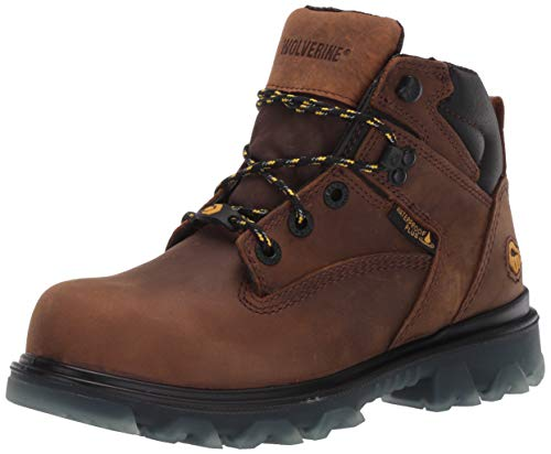 Wolverine womens I-90 Epx Composite Toe Construction Boot, Brown, 8.5 Wide US