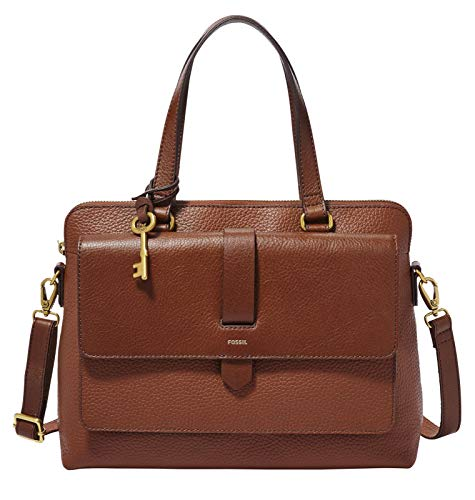 Fossil - Kinley Handtasche Braunes Leder 31 cm Für Frauen ZB7892200