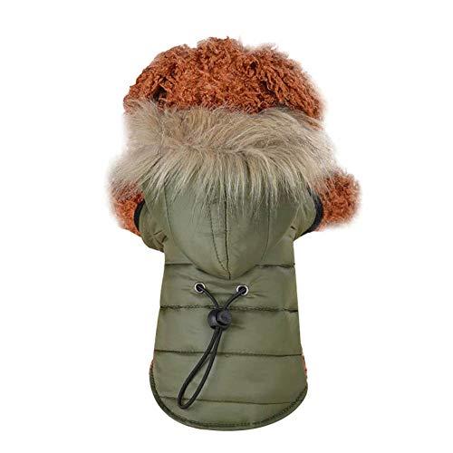 Wildlead Abrigo para Perros Ropa de Abrigo para Perros pequeños y cálidos...