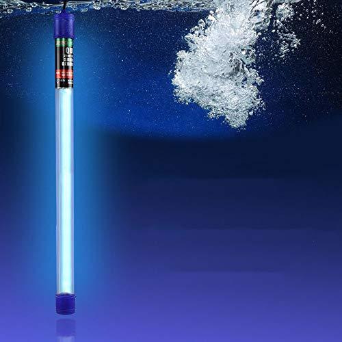 SMYH Lampe Germicide Stérilisateur Aquarium Uvc Verre Quartzeux UV Lampe De Désinfection pour étangs à Poissons Piscines Fontaines Etc(4w-60w)