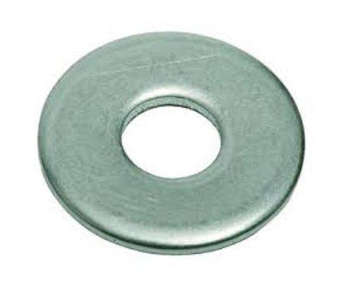 2024-T3/T4 Aluminum Flat Washer, Plain Finish, 5/8