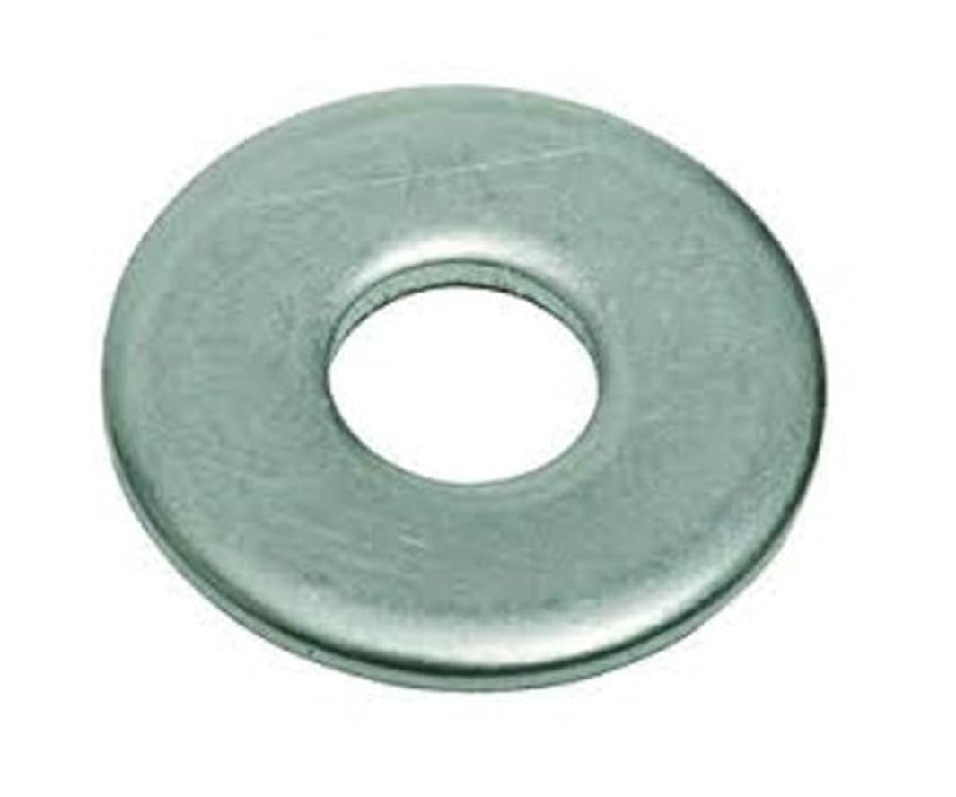 2024-T3/T4 Aluminum Flat Washer, Plain Finish, 1/4