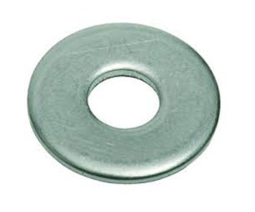 2024-T3/T4 Aluminum Flat Washer, Plain Finish, 1/2